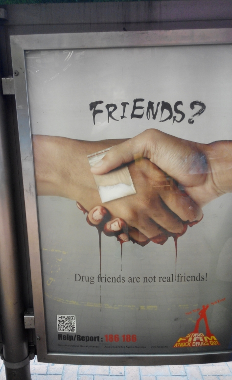 Drug friends? What?